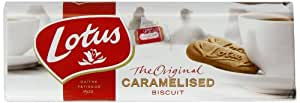Lotus Original Caramelised Biscuits 250 g (Pack of 10)