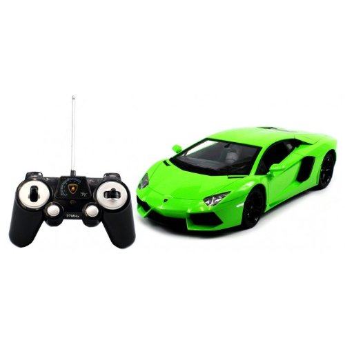 (Limited Edition Verde Ithaca) Licensed Electric Full Function 1:14 Lamborghini Aventador LP700-4 RTR RC Car