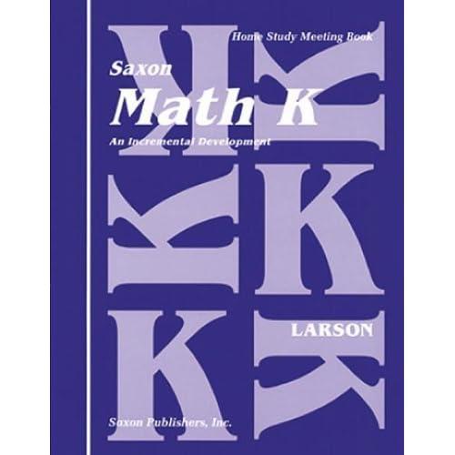 Saxon Math K Oklahoma: 24 Student Kit 2010 SAXON PUBLISHERS