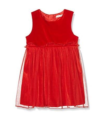 Pitter Patter Baby Gifts Vestido Kids Rojo
