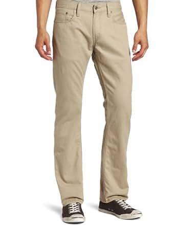 Levi's Men's 514  Straight Leg Twill Pant, Chinchilla, 28x30