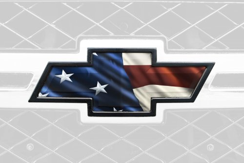 Mossy Oak Graphics 300005 Patriotic Auto Emblem Skin (Chevy Emblems compare prices)