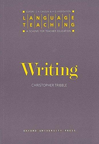 Language Teaching. a Scheme for Teacher Education: Writing