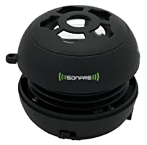Sonpre Mini Micro Speaker System for PC, Phone, Tablet, Apple iPod Touch, iPhone 4, iPad, MP3 Player (BLACK)