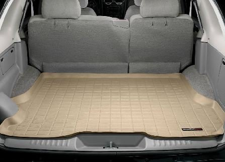 2002-2009 GMC Envoy WeatherTech Cargo Liner (Tan) (Gmc Envoy Weathertech compare prices)