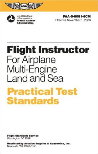 Flight Instructor Practical Test Standards for Airplane...