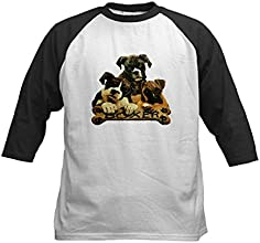 Royal Lion Kids Baseball Jersey Boxer Trio with Bone Name Plate
