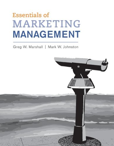 Loose-Leaf Essentials of Marketing Management