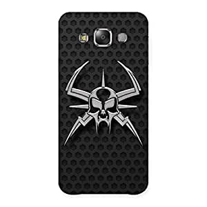 Impressive Skull Fission Back Case Cover for Galaxy E7