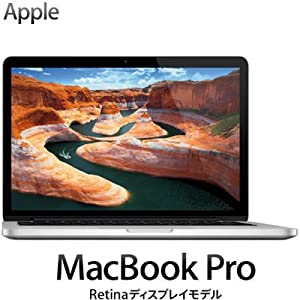 APPLE MacBook Pro with Retina Display (13.3/2.6GHz DC i5/8/256/HDMI) ME662J/A