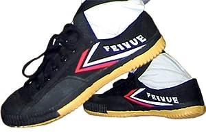 Black Feiyue Martial Arts Shoes - Size 43