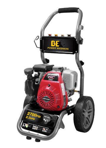 Be Pressure Be275Ha Gas Powered Pressure Washer, Gc160, 2700Psi, 2.3 Gpm front-211329