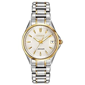 Citizen Women's PA0004-53A Grand Classic Analog Display Automatic Self Wind Two Tone Watch
