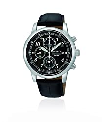 Seiko Designer Analog Black Dial Mens Watch - SNDC33P1
