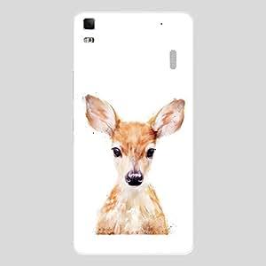 Back cover for Lenovo A7000 Cute Deer