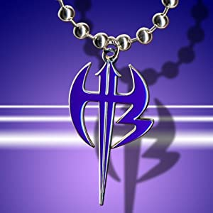 WWE Jeff Hardy Purple Logo Pendant
