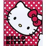 Hello Kitty Polka Dot Fleece Throw Blanket 50'' x 60''
