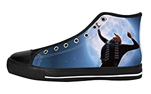 Women's High Top Full Canvas Upper Soft Inner Canvas Shoes Custom Despicable Me Gru Design