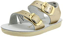 Salt Water Sandals by Hoy Shoe Sea Wees,Gold,3 M US Infant