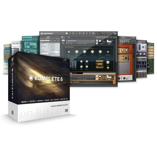 Native Instruments KOMPLETE-6 Software Bundle