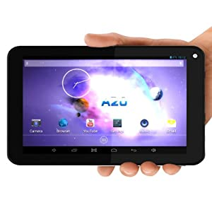 PPTab® 7 Inch Android 4.2 PC Tablet - 512MB DDR RAM A20 - Best Touch Screen - HDMI Output 1080P - Micro USB Port - Great for Kids & Cheap - Front & Back Camera - Wifi for Internet - DualCore A7 1GHZ - Google Play Installed
