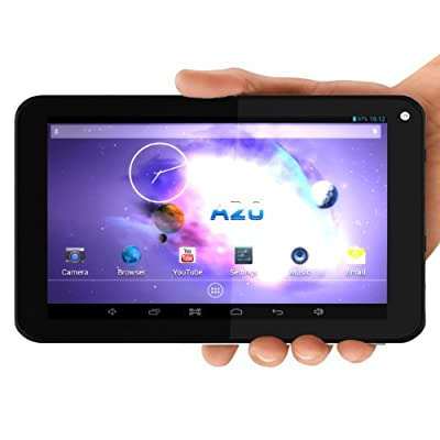 PPTab® 7 Inch Android 4.2 PC Tablet 8GB - 512MB DDR RAM A20 - Best Touch Screen - HDMI Output 1080P - Micro USB Port - Great for Kids & Cheap - Front & Back Camera - Wifi for Internet - DualCore A7 1GHZ - Google Play Installed
