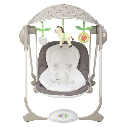 Chicco altalena polly swing colore natural for Altalena chicco amazon