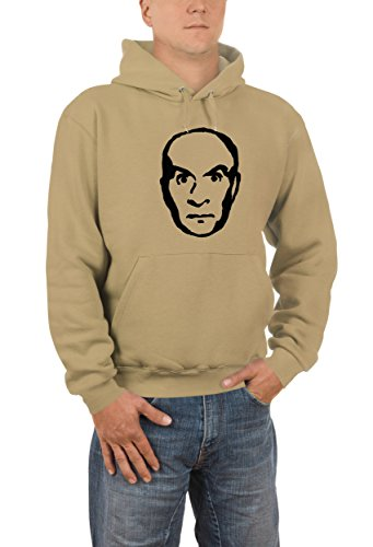 Touchlines - Sweatshirt Louis de Funes, T-Shirt uomo, Marrone (brown), S
