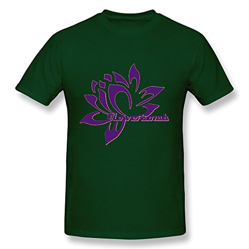 WSB Men's Tshirts Flower Bomb Forest Green M