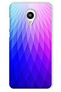 IndiaRangDe Hard Back Cover FOR MEIZU M2 (Melian 2)