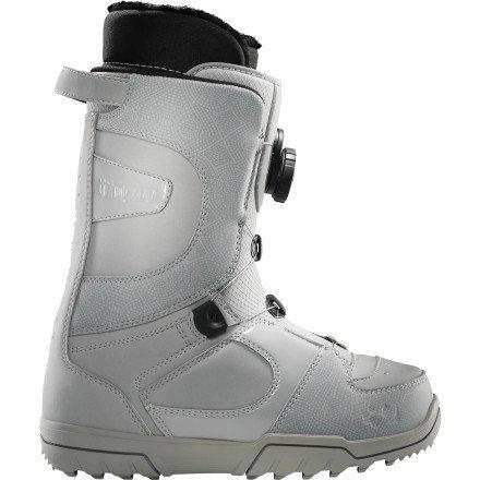 ThirtyTwo STW Boa Snowboard Boot – Women's Grey, 9.0