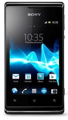 Xperia E dual C1605 (Black) 海外SIMフリー携帯