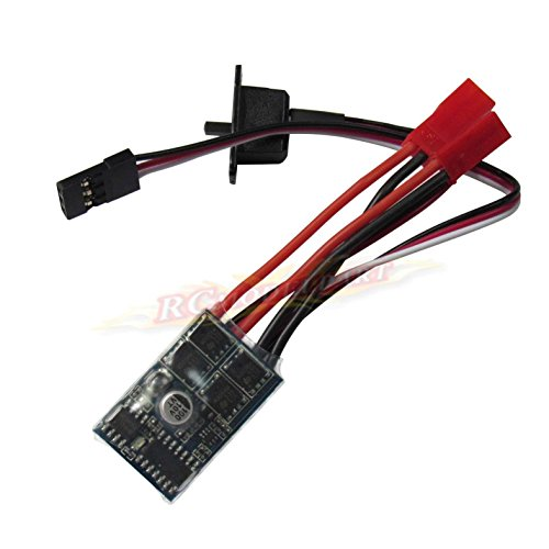 Hobbypower Rc ESC 10a Brushed Motor Speed Controller for Rc Car Boat W/o Brake (Rc 380 Motors Brushed compare prices)