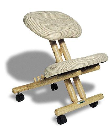 Si ge assis genoux ergonomique professionnel sans dossier for Chaise ergonomique repose genoux