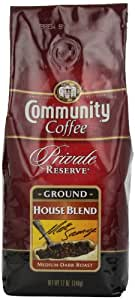 Community Coffee Private Reserve Ground Coffee, House Blend, 12-Ounce Bags (Pack of 3)