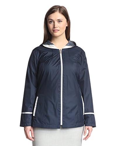 Fleet Street Plus Women's Hooded Raincoat