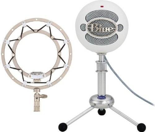 Blue Snowball & Ringer Package -Textured White