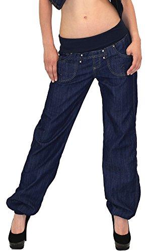 damen jeans hose haremshose pumphose damen jeans boyfriendhose boyfriend jeanshose 4 farben j132. Black Bedroom Furniture Sets. Home Design Ideas