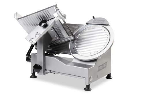 "PRO-CUT KSDS-12 Deli Meat Slicer, 12"" Stainless Steel Blade, Belt Driven Transmission, Stainless Steel Construction"