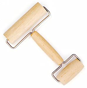 Norpro 3077 Wooden Pastry and Pizza Roller