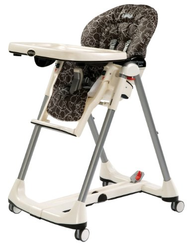 Peg-Perego 2011 2010 Prima Pappa Diner High Chair, Naif Cacao front-247920