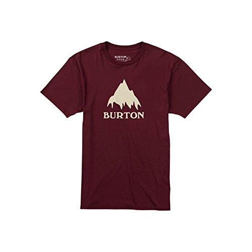 Burton-Maglietta da uomo Classic Mountain, Uomo, T-Shirt CLASSIC MOUNTAIN, Wino, L