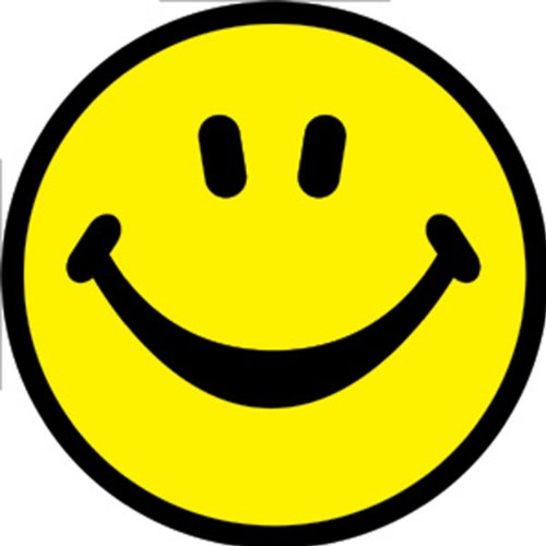 Licenses Products Happy Face Sticker