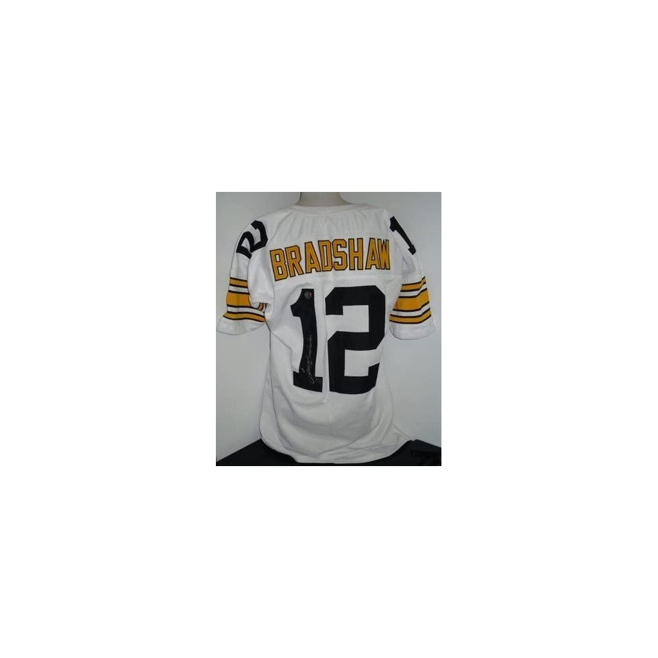 online store df3e1 a5ef9 Terry Bradshaw Signed Jersey Autographed NFL Jerseys on ...