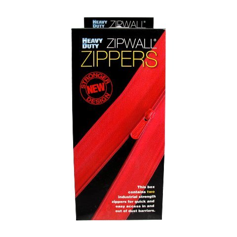 Zipwall Heavy Duty 7' Zippers (Pack of 2)