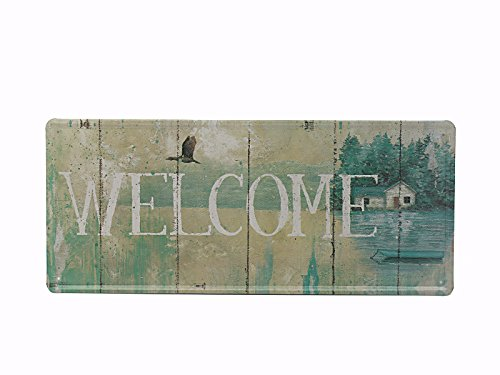 "Welcome logo Retro Vintage 8""X18"" Metal Tin Sign"
