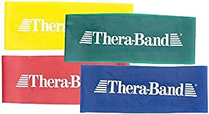 """Thera-band resistance loops - 8"""" heavy green"""