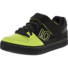 Five Ten Men's Hellcat Bike ShoeBlack/Lime Punch10 D