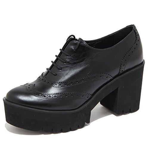 4138N scarpa allacciata PALOMITAS scarpe donna shoes woman nero [40]