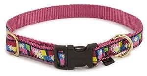 Premier Pet Fido Finery Quick Snap Collar Size Small 3/4 Daisy Block